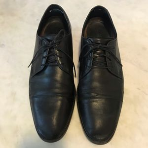 Cole Haan Grand OS Cap Toe Oxfords, Black Leather